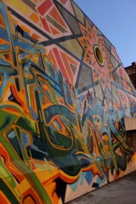 Rialto Mural: Apollo the Sunflower God (Christopher Jordan and Kenji Stoll)